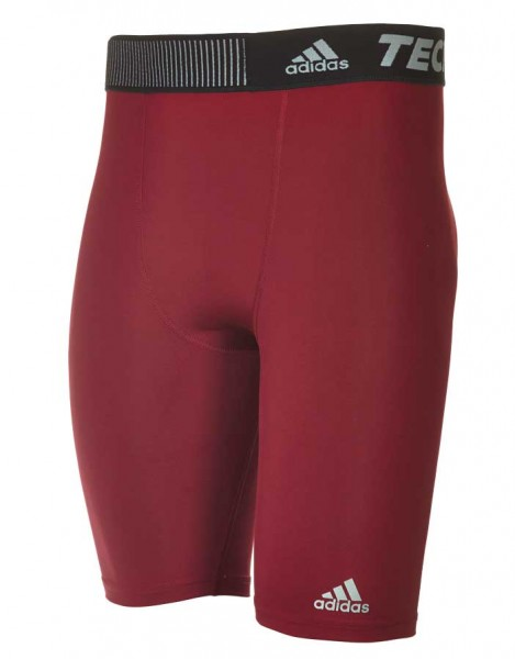 adidas Techfit Base Tight Hose ST9 cardinal-rot (D82107)