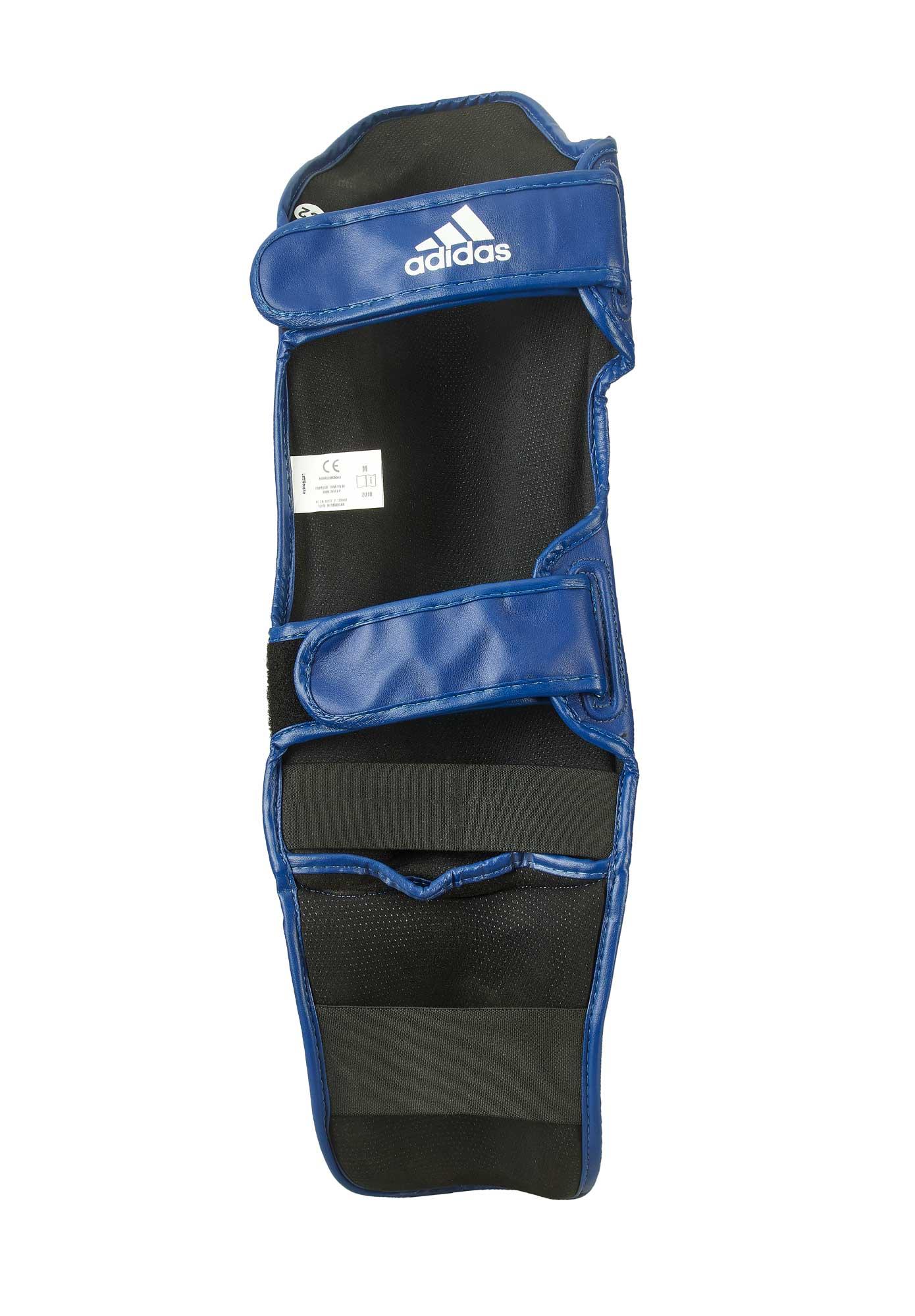 adidas Super Pro Shin n Step blue, WAKO, ADIWAKOGSS11