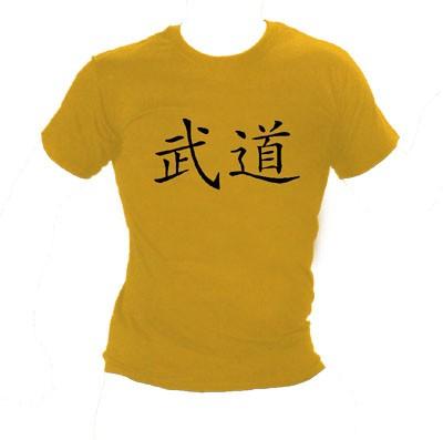 Shirt Budo Kanji