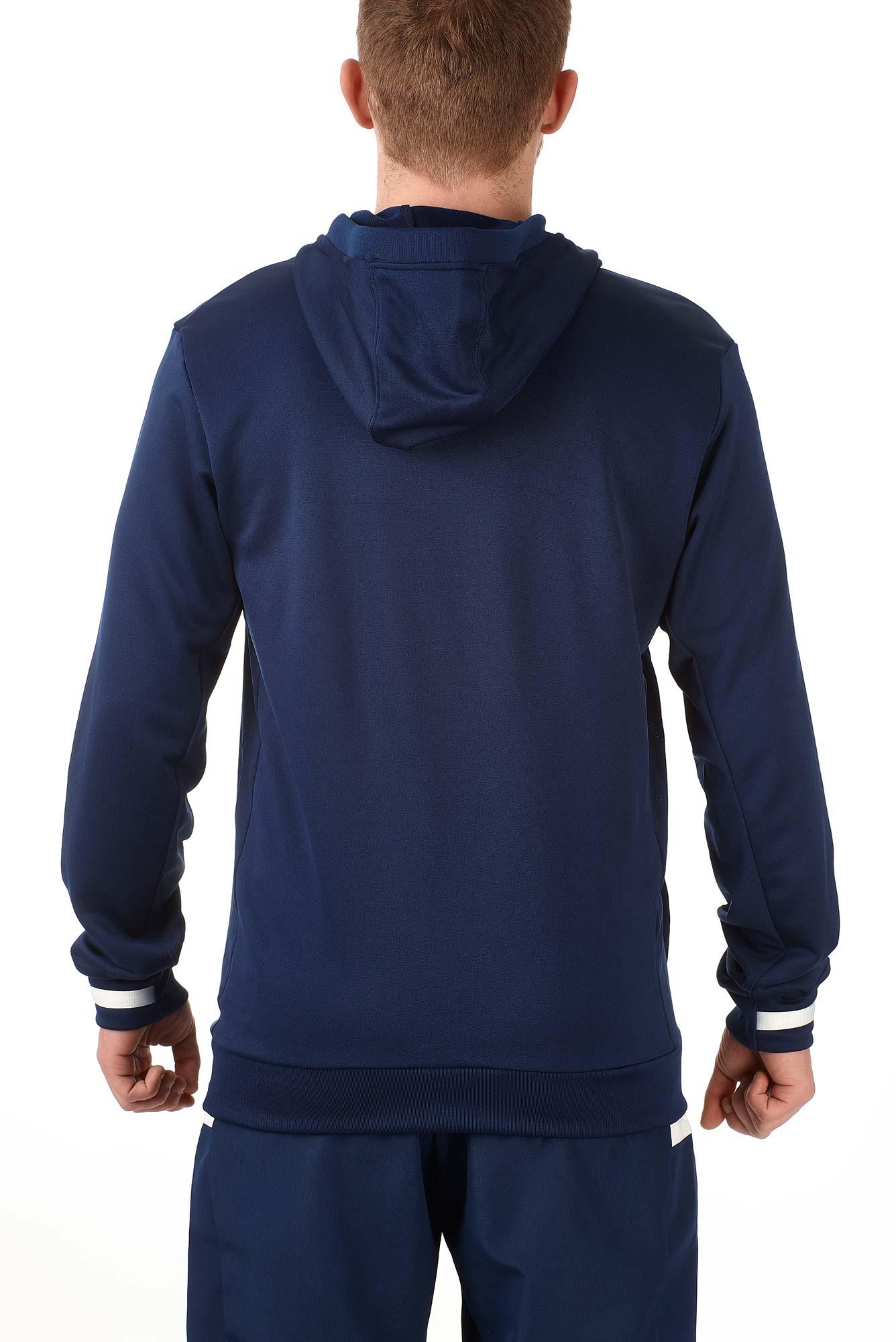 adidas T19 Hoodie Männer blauweiß, DY8825