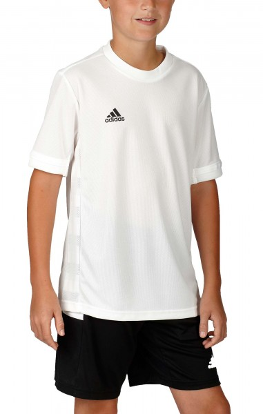 adidas T19 Shortsleeve Jersey Boys weiß, DW6885