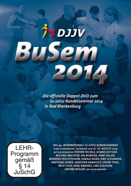 DVD Ju Jutsu Bundesseminar 2014 Doppel-DVD