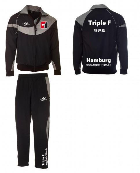 Bedruckung Trainingsanzug Triple F Hamburg