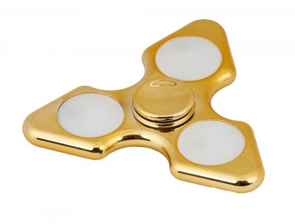 Spartan Spinn-Me gold mit LED, 6016