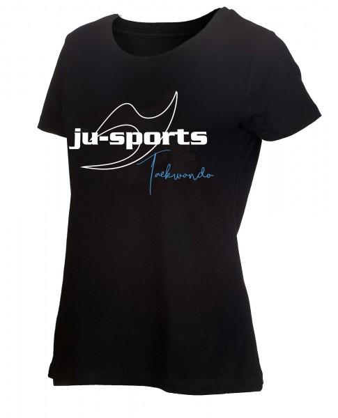 "Ju-Sports Signature Line ""Taekwondo"" T-Shirt ladycut"
