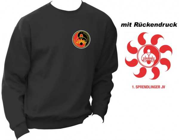 Sweater F324 Vereinskollektion Sprendlinger Judoverein