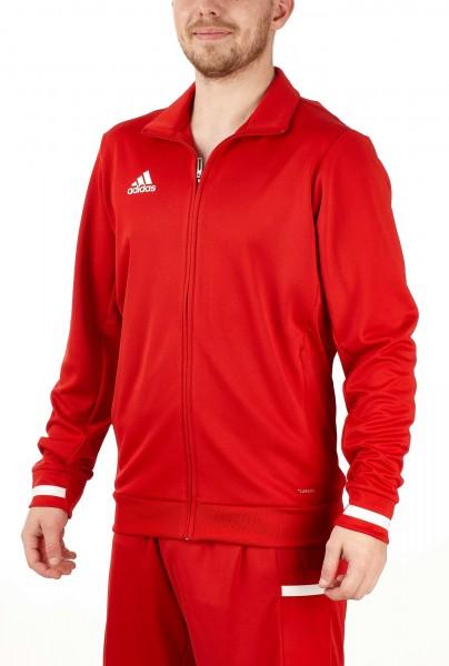HTU adidas T19 Trekking Jacket rot/weiß, DX7323