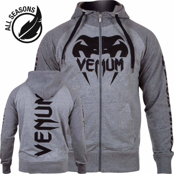 "Venum Hoody ""Pro Team 2.0"" lite series heather grey, 2004"