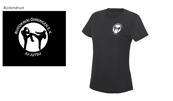 Ladies Sport T-Shirt Budokwai Öhringen Vereinsedition