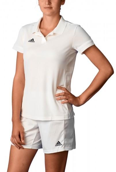 adidas T19 Polo Shirt Damen weiß, DW6878