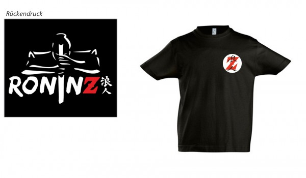 Kids Imperial T-Shirt black RoninZ Edition