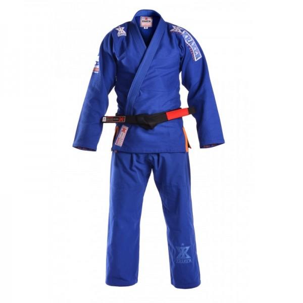Kraken BJJ Gi Pro Series blue