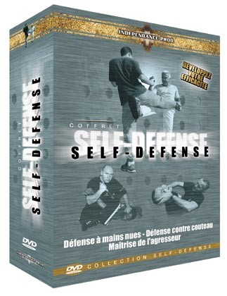 SELBSTVERTEIDIGUNGS-PACK (DVD 70 - DVD 78 - DVD 108)