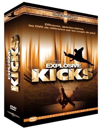 Explosive Kicks-Pack ( DVD 68 - DVD 73 - DVD 100)
