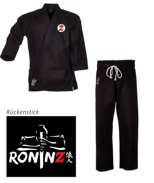 "Ju-Jutsu Anzug ""Tenno Classic"" black RoninZ Edition"