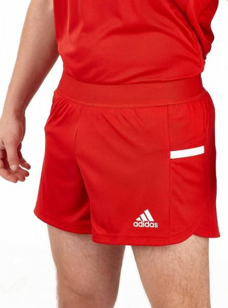 adidas T19 Run Shorts Männer rot/weiß, DX7281