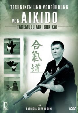 Techniken und Vorführung von Aikido Takemusu Aiki Bukikai, DVD 182