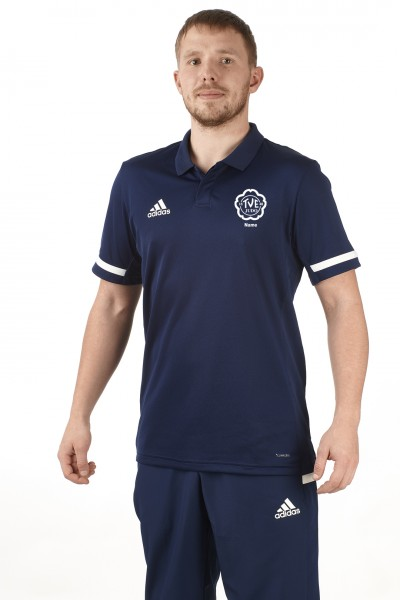 TV Erlangen Judo adidas T19 Polo Shirt Männer blau/weiß, DY8806