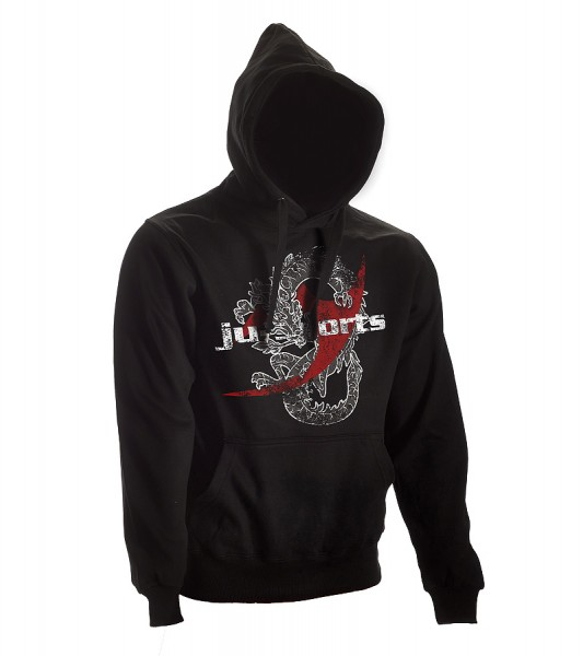 Dark-Line Hoody Dragon schwarz