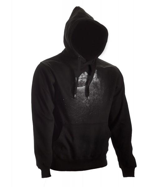 Dark-Line Hoody Jush Explosion schwarz-grau