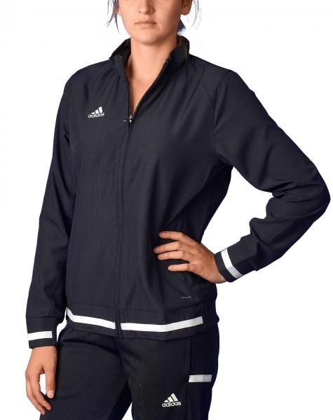 adidas T19 Woven Jacket Damen schwarzweiß, DW6874