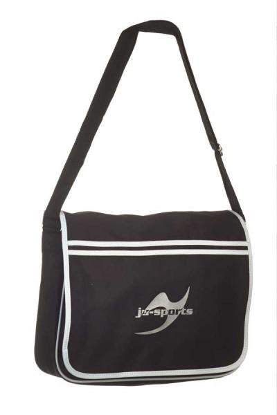 Retro Messenger Bag schwarz
