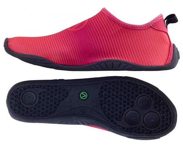 "Spartan Barfuß-Schuhe ""Astro red"""