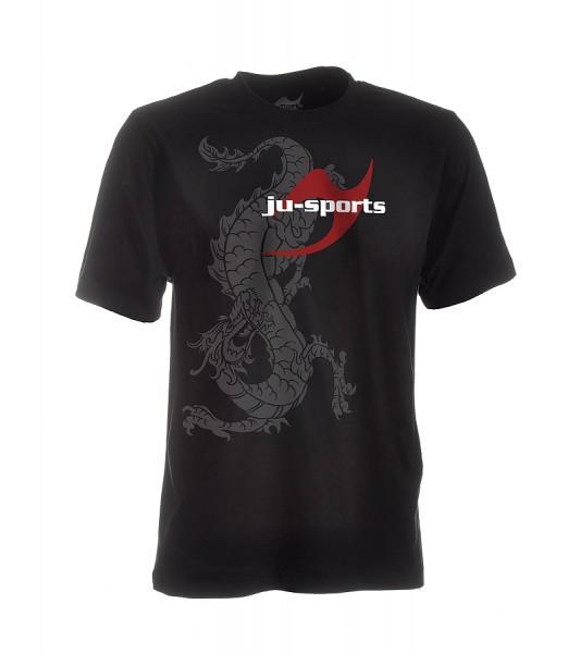 Dark-Line T-Shirt Ryuu schwarz