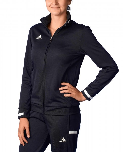 adidas T19 Trekking Jacket Damen schwarz/weiß, DW6848