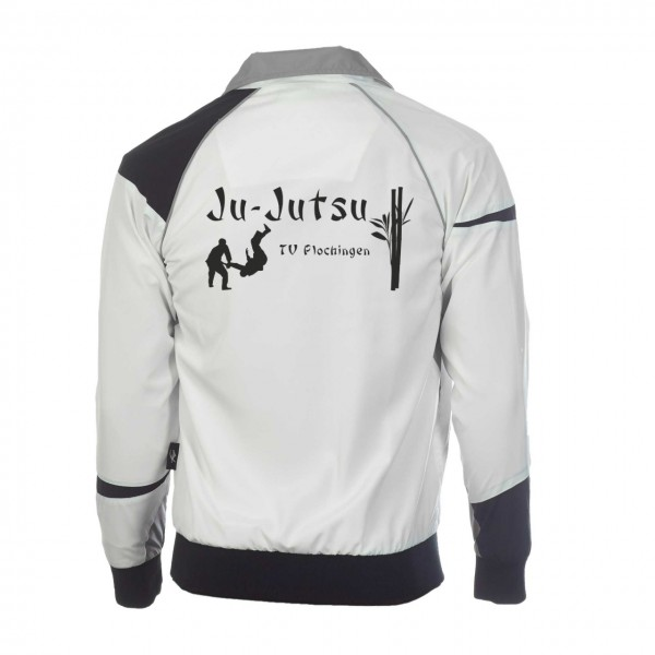 Teamwear Element C1 Jacke weiß, TV Plochingen Ju-Jutsu