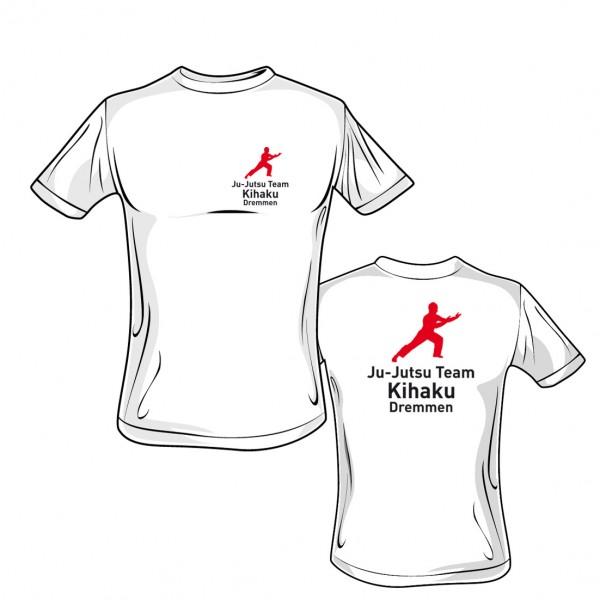 T-Shirt L190 weiß - Kihaku Dremmen