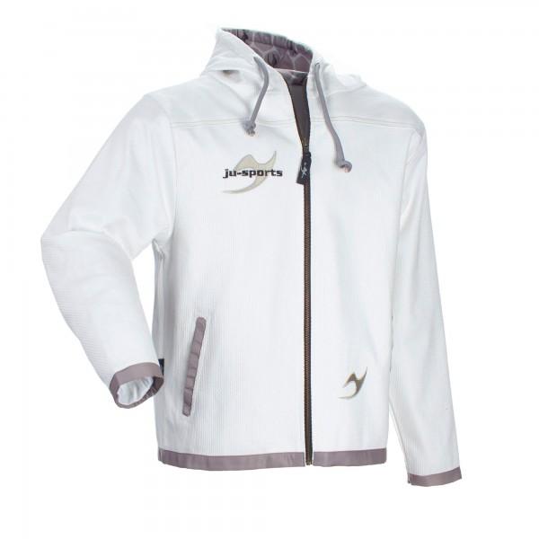 Street-Gi Hooded Zip Jacket white