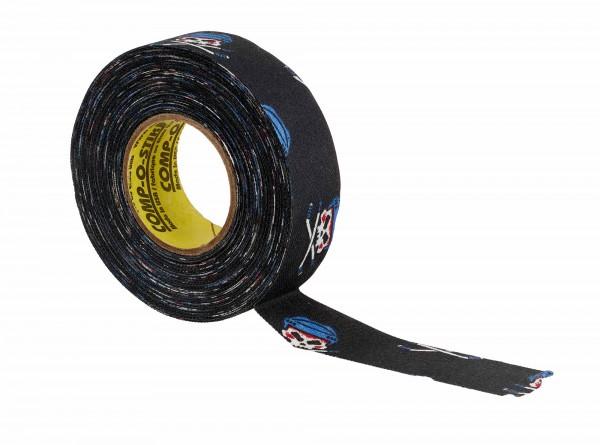 """North American Tape 24 mm/18m - Hockey-Schlägertape """"Skull"""""""