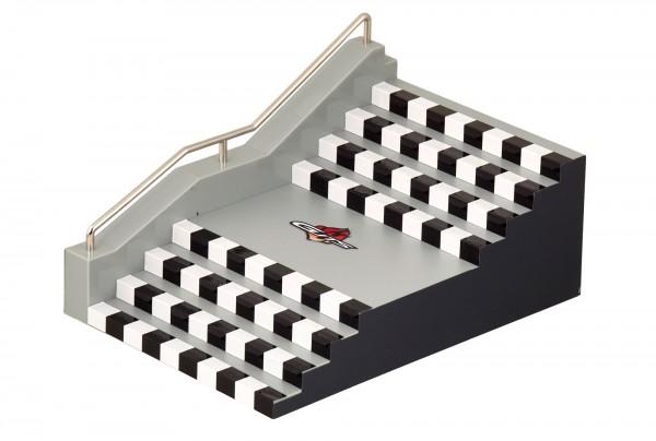 Guts Fingerboard-Rampe mit Treppenstufen 3912
