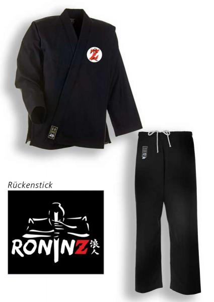 """SV Premium Anzug """"Ronin"""" schwarz RoninZ Edition"""