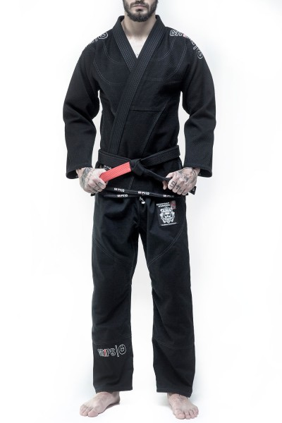 GR1PS BJJ-Gi Secret Weapon EVO, black