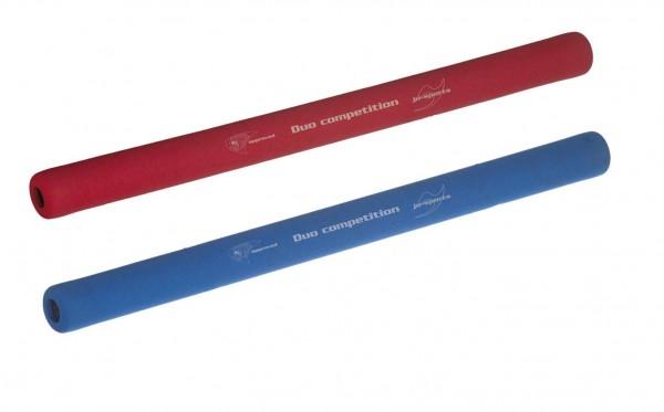 Ju-Jutsu Duo-Stock-Set: Soft Stick rot und blau