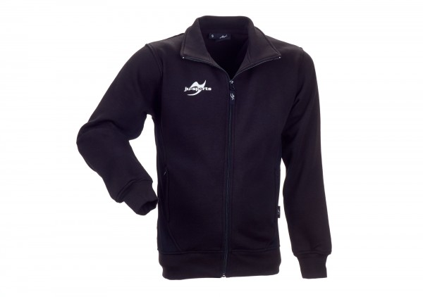 Teamwear Element Core Zip Sweat Jacket schwarz