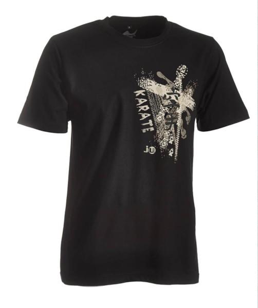 Karate-Shirt Trace schwarz