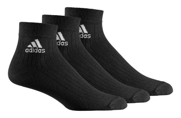 adidas Sportsocken, 3er Pack schwarz DZ9379