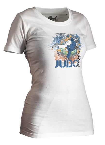 Judo-Shirt All-Japan weiß Lady