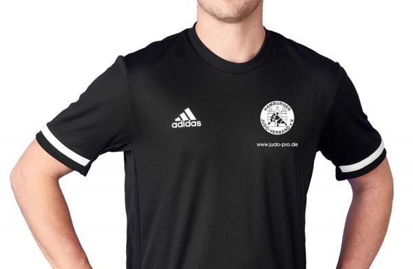 HJV adidas T19 Shortsleeve Jersey Männer schwarz/weiß, DW6894