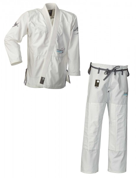 """BJJ-Gi """"Competition Superlight RS"""" white, RipStop"""