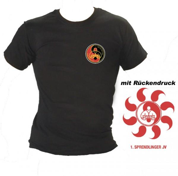 T-Shirt schwarz F140 Vereinskollektion Sprendlinger Judoverein F140