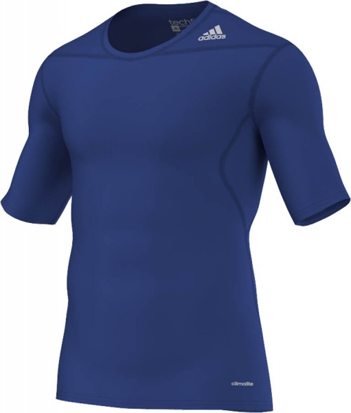 adidas Techfit Base Shortsleeve royal-blau (D82091)
