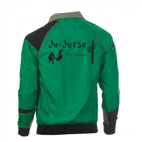 Teamwear Element C1 Jacke grün, TV Plochingen Ju-Jutsu