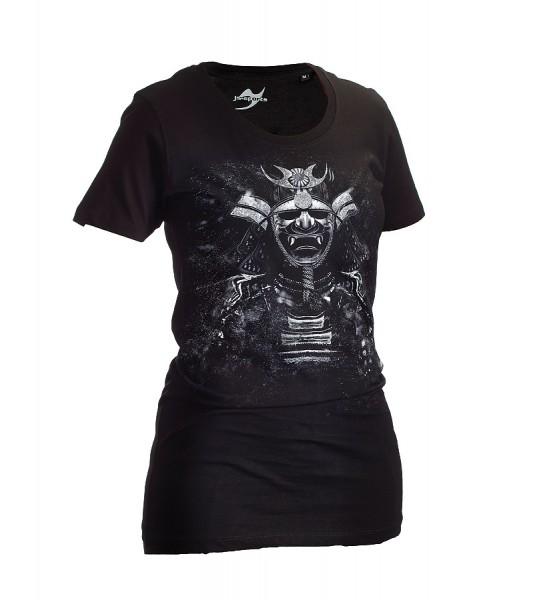 Dark-Line T-Shirt Kabuto schwarz Lady
