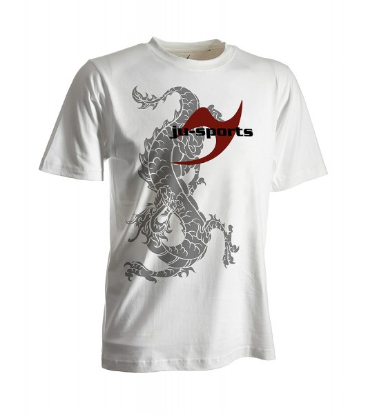 Dark-Line T-Shirt Ryuu weiß