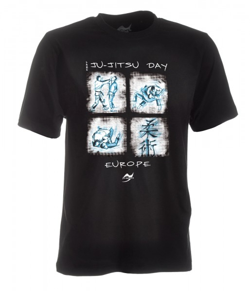T-Shirt Jiu-Jutsu day EUROPE