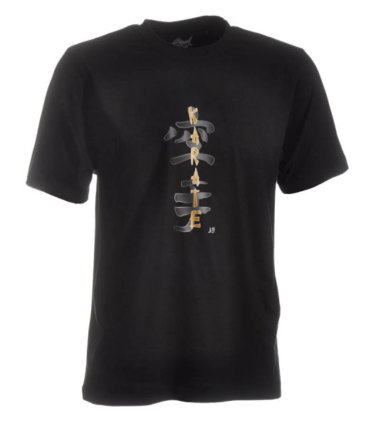 Karate-Shirt Classic schwarz